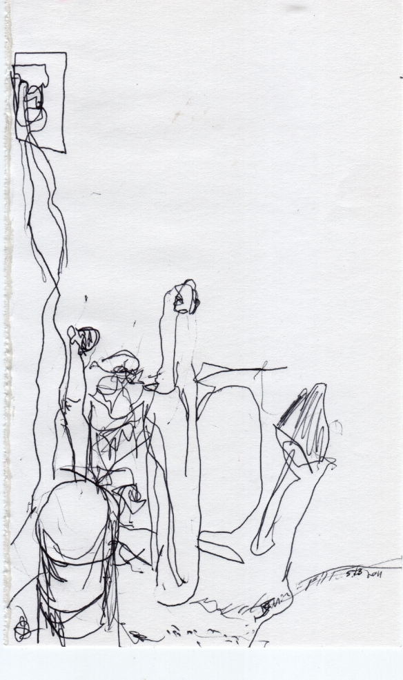 5/3/2011 - 5 minute drawing