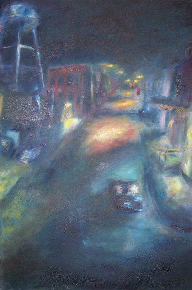 Kirksville by Night © 1996 Jeff Thomann