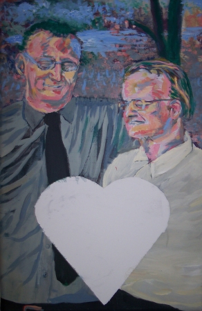 Happy Anniversary © 2005 Jeff Thomann, Media: Acrylic Painting